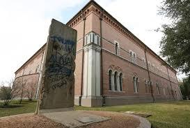 Hous Rice University Mural Monument Vandalized With Pro Donald Trump