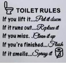 toilet rules wall art quote wall art sticker living room kitchen toilet rules wall art quote wall art sticker living room kitchen