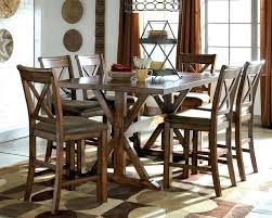 black metro 5 piece counter height set dining room sets high