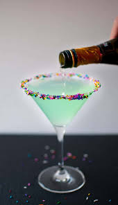 lavender cocktail sprinkletini