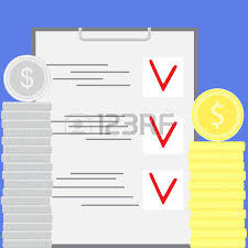 Budgeting Stock Vector Illustration And Royalty Free        RF com budgeting  Accounting for financial budgeting  Financial business accounting and finance management and economy