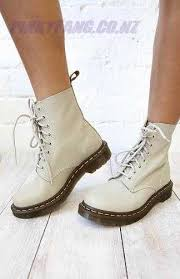 doc martens womens boots nz dr martens pascal 8 eye boot ivory virginia back in stock