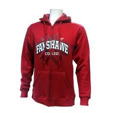full zip hoodie fanshawe college retail services