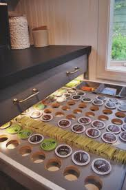 Kitchen Food Storage Ideas by Best 25 Coffee Pod Storage Ideas On Pinterest Coffee Pod Racks