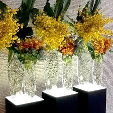Silk Flower Arrangements For Office - flower arrangement for office reception yellows for more