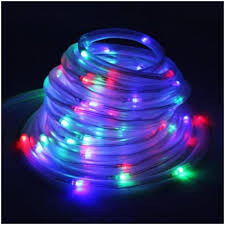 decoration lights for party solar colorful tube 100 led string party fairy lights decoration