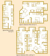 Disney Boardwalk Villas Floor Plan Disney 3 Bedroom Villas Descargas Mundiales Com