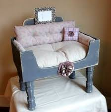 Shabby Chic Dog Beds by Htf Rachel Ashwell Simply Shabby Chic Pet Bed Pink Roses Green