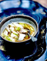 cuisine au thé soupe parisienne au thé et poisson émietté pour 4 personnes