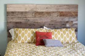 Do It Yourself Headboard Creatively Diy Reclaimed Wood Headboard