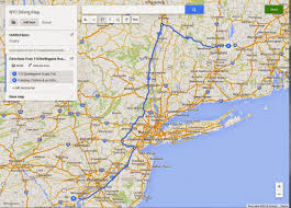 Route 95 Map by How To Drive Through The New York City Area J Dawg Journeys