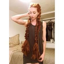 viking anglo saxon hairstyles viking braided hairstyle beautiful 3 braids pinterest