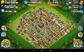 amazing clash of clans super jungle heat war of clans android apps on google play