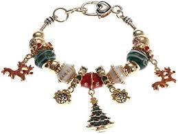 murano charm bracelet images Lova jewelry quot winter theme quot murano glass beaded charm jpg