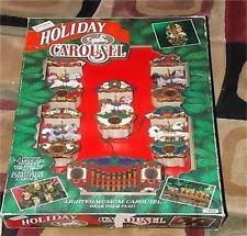 mr christmas carousel ornaments ebay