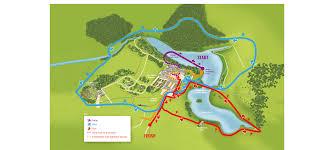 Coverage Map Sprint Blenheim Triathlon