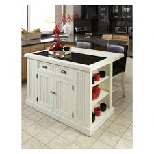 second hand kitchen island dark brown wooden cabi and square white