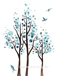 wall ideas birds in flight wall daccor loading zoom bird panels bird wall decor target 8 x 10 art print aqua blue decor for home tree wall art for bedroom or living room decor circle tree art soft blue art 112 bird wall