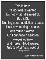 addiction quotes of addicts swenson