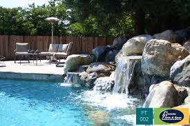 Pool Landscape Pictures by Custom Pool Features Premier Pools U0026 Spas