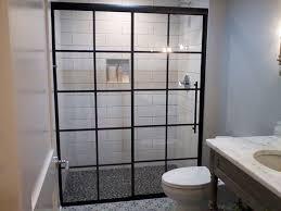 Decorative Shower Doors Sculpted Decorative Shower Doors Creative Mirror Shower