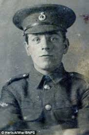 story of two tommies gunned down by german snipers on dec 25 1914