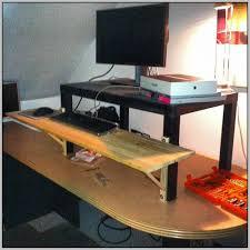 ergonomic standing desk attachment desk home design ideas