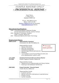 Free Police Officer Resume Templates Security Guard Resume Template For Free Resume For Your Job