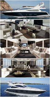 Yacht Interior Design Ideas by Best 25 Luxury Boats Ideas On Pinterest Yachts Yachts And
