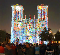 san fernando cathedral light show san antonio san fernando cathedral light show anirik 01