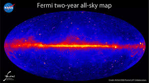 Milky Way Map Gms Fermi Discovers Giant Gamma Ray Bubbles In The Milky Way