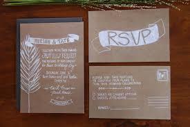 wedding invitations kraft paper wedding invitation kraft paper kraft paper wedding invitations