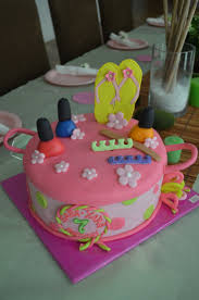 18 best spa cakes images on pinterest spa cake spa party cakes