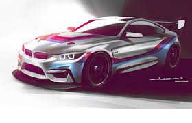 bmw m4 gt4 racer muscles in for 2018 launch by car magazine