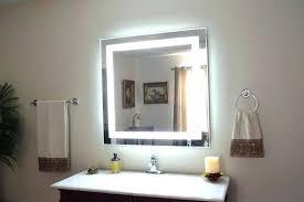 Bathroom Mirror Shaver Socket Lighted Bathroom Mirror Lighted Bathroom Mirrors Lighting
