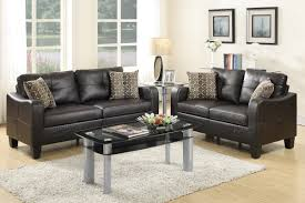 2 pcs sofa set sofa loveseat bobkona furniture showroom