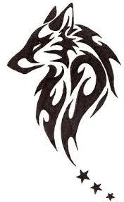 tribal wolf avatar by hareguizer deviantart com tattoos