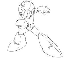 mega man coloring pages to download and print for free regarding