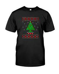 oh chemist tree ugly christmas sweater shirt