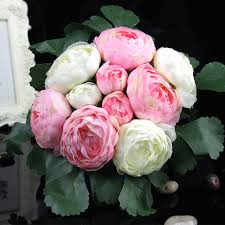 blumen geschenke zur hochzeit aliexpress yaran künstliche seidenblumen tau lotus blumen