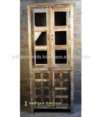 reclaimed wood curio cabinet indian reclaimed wood glass door cabinet reclaimed wood furniture