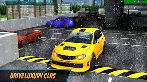 multi level winter car parking best android gameplay hd