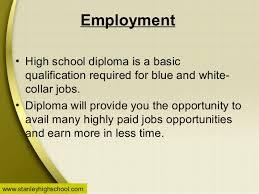 is online high school benefits of online high school diploma