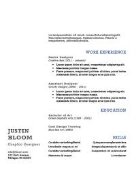 Michigan Resume Builder Simple Resume Templates 75 Examples Free Download