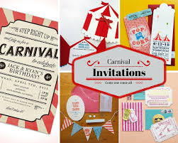 carnival birthday party carnival party ideas circus party ideas at birthday in a box