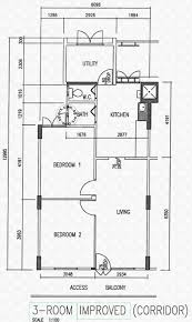 floor plans for bukit merah view hdb details srx property
