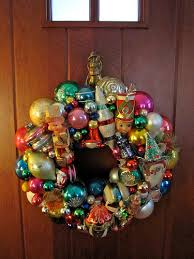 vintage christmas ornaments vintage christmas ornament wreath a retro treat from