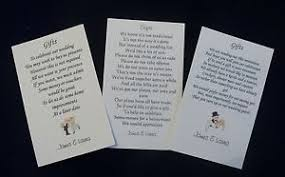 Wedding Gift Cash 50 Wedding Gift Poem Cards Asking For Money Cash Cheques Choice X