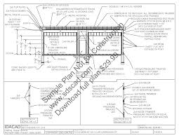 sds63 24 x 40 pole barn plans sample page 08 sds plans