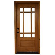 9 Lite Exterior Door 9 Lite Craftsman Exterior Door Exterior Doors And Screen Doors